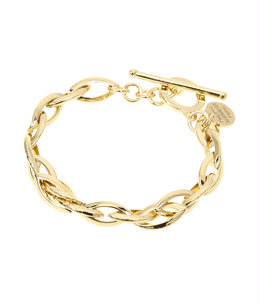 【レディース】Elton bracelet(brass gold color)