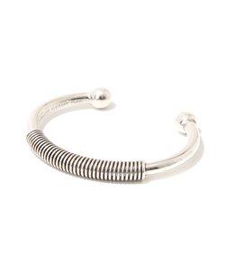【レディース】Craig bracelet(brass silver color)-BRS1965-