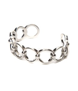 【レディース】Alyssa bracelet(brass silver color)
