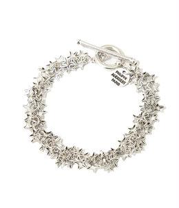 【レディース】Luyten bracelet(brass silver color)