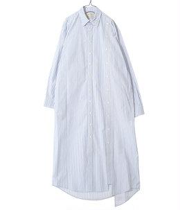 【レディース】circa make double placket shirt one-piece