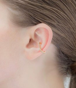 Square Diamond Ear Cuff(イヤーカフ)