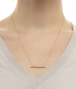 Gossamer Diamond  Bar Necklace(ネックレス)