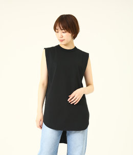 【レディース】SUVIN AIR SPINNING ROUND HEM TANK TOP