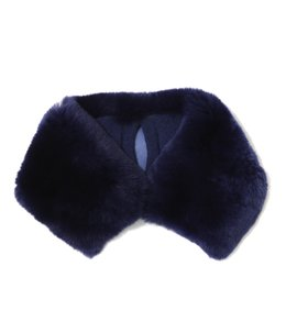 Fur neck warmer Large R-1(40cm×8cm)