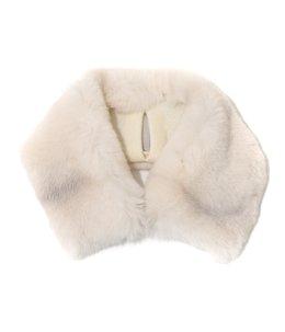 Fur neck warmer Large R-2(40cm×8cm)