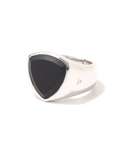 【レディース】Shield Black Onyx Ring W(woman)