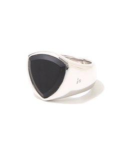 【レディース】Shield Black Onyx Ring W(woman)