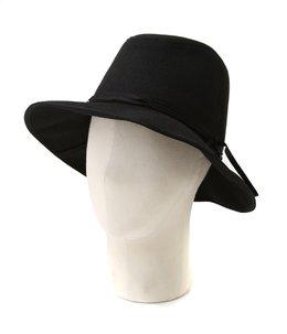 【レディース】Felt narrow ribbon Hat