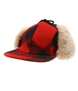 DOUBLE MACKINAW CAP
