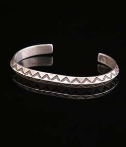 1930~1940's HAND STAMPED NAVAJO BANGLE INGOT
