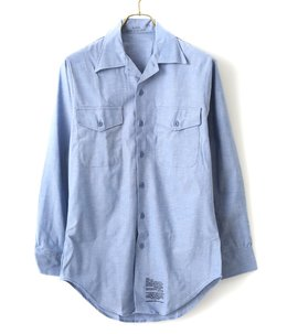 【DEAD STOCK】80's Chambray SHIRT