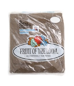 【DEAD STOCK】80's FRUIT OF THE LOOM 3Pack Tee