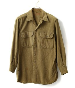 【USED】US.ARMY WOOL SHIRT