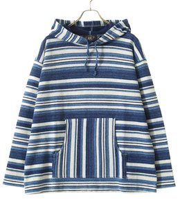 LS PO HOOD-LONG SLEEVE-KNIT COTTON TERRY
