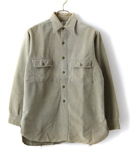 【USED】40's BLACK BEAR Moleskin SHIRTS