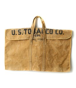 【USED】VINTAGE 40's WWⅡCANVAS BAG