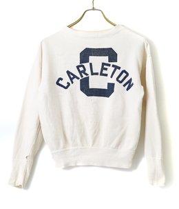 【USED】50's VINTAGE CHAMPION CARLETON SWEAT
