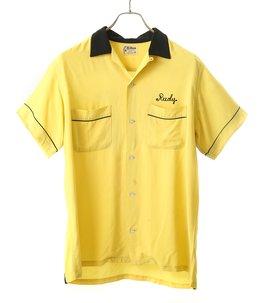 【USED】Hilton ボーリングシャツ YELLOW