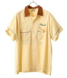 【USED】Hilton ボーリングシャツ BEIGE