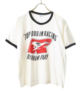 【USED】70's CHAMPION TOP DOG IN RACING T-SHIRT