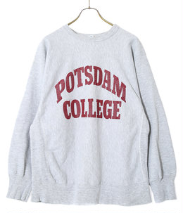 【USED】80's Champion POTSDAM COLLEGE SW