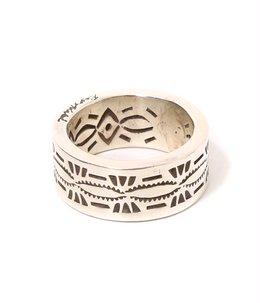RayAdakai Stamp Ring – FLAT LARGE