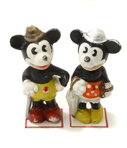 WALT E DISNEY Mickey Minnie