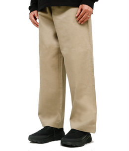 WASHED FINX CHINO WIDE PANTS