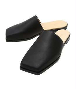 【レディース】LEATHER SQUARE SANDALS MADE BY FOOT THE COACHER
