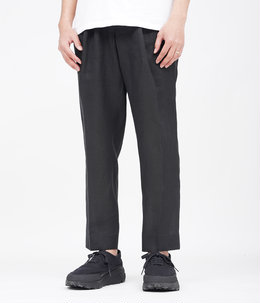 PEGTOP EASY TROUSERS  - HEMP SHIRTING -