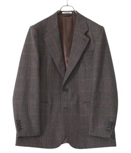 BLUEFACED WOOL CHECK JACKET