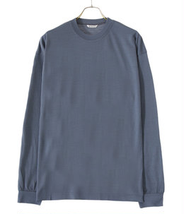 WASHABLE LIGHT WOOL JERSEY L/S TEE