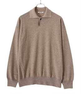 BABY CASHMERE KNIT POLO
