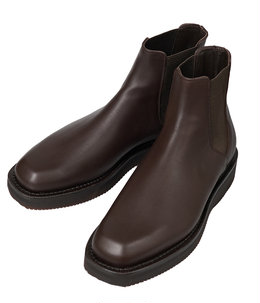 LEATHER SQUARE BOOTS MADE BY FOOT THE COACHER