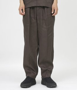 NEW CLASSIC FIT EASY TROUSERS - HEMP SHIRTING -