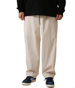 FINX NYLON STRETCH WIDE SLACKS