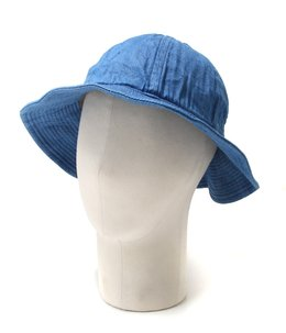 DENIM BALLON HAT -LIGHT BLUE-