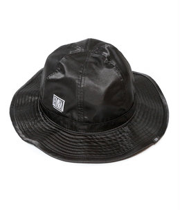 SATIN HAT BLACK