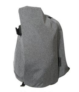 Isar Rucksack M (Eco Yarn / BLACK MELANGE / Laptops up to 13inch)