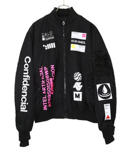 LOGO PATCH BOMBER