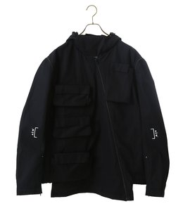 CARGO JACKET w DETTACHABLE SLE