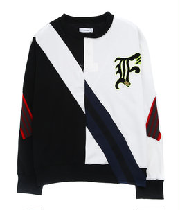 RUGBY MIX RIB SWEAT SHIRT