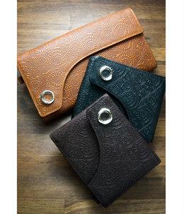 Flap Vine Fold Wallet (二つ折り財布)