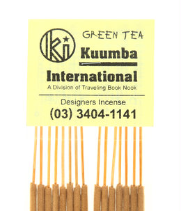 お香/GREEN TEA - REGULAR INCENSE3個セット