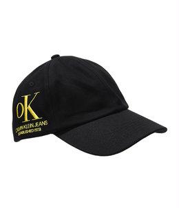 OK LOGO DENIM CAP