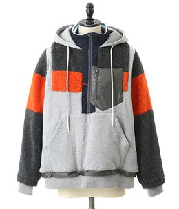 MIX-PULLOVER JACKET
