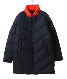 Ascent Coat -ブラック×ファイアリーレッド-