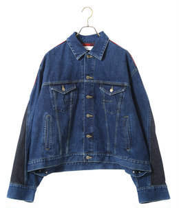 CHECK DENIM JACKET