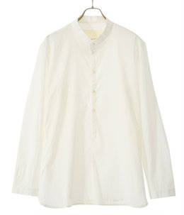 THE BOTANIST SHIRT LAWN -CHALK-